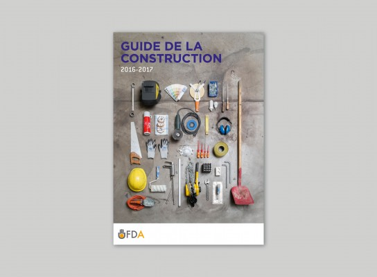 Advertising support: Guide de la Construction 2016-2017
